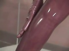 Latex, Divas in latex, Xhamster
