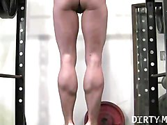 Blonde, Instruction, Gym, Hairy instruction, Xhamster