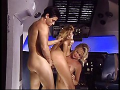 Arab, Stewardess, Hot stewardess get drilled by two, Xhamster