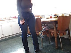 Jeans, Ass, Tight, Big Ass, Jean yves le castel, Xhamster