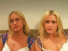 Twins, Threesome, Tranny twins, Xhamster