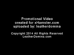 Bondage, Leather, Bondage and vibrator, Xhamster