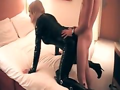 Crossdresser, Latex, Dress, Toilet latex slave, Pornhub
