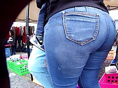 Jeans, Big Ass, Jeans and panties, Xhamster