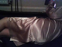 Wife, Satin, Only silk and satin, Xhamster
