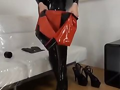 Fetish, Rubber, Latex, Doll, White latex nurse, Xhamster