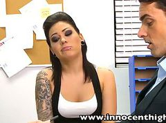 Goth, Teen, Facial, Tattoo, Double penetration tattoo movies, Xhamster