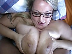 Titjob, Black blowjob and titjob, Xhamster