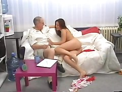 Teen, Old Man, The fat old man, Xhamster