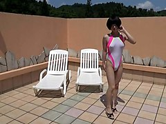 Crossdresser, Swimsuit, Dress, Swimsuit anime, Xhamster