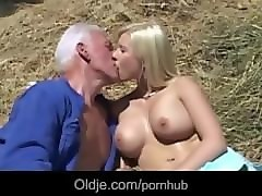 Bus, Blonde, Farm, Farm girl, Pornhub