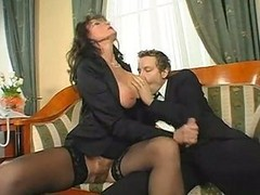 Bus, Secretary, Mature, Sspanked secretary, Drtuber