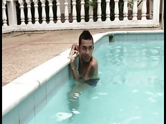 Pool, Wet, Clothes on in swimming pool, Xhamster