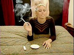 Blonde, Smoking, Xhamster