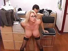 Bus, Office, Secretary, Mature, Secretary toys, Drtuber