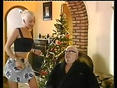 Blonde, Short Hair, Old Man, Old man fucks big boobs, Xhamster