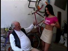 Teen, Money, Old Man, Money czech, Xhamster