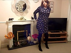 Boots, Crossdresser, Dress, Female fucks crossdresser, Xhamster