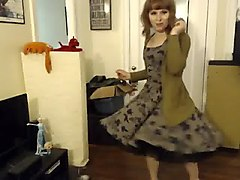 Crossdresser, Teen, Surprise, Dress, Crossdresser pantyhose, Xhamster