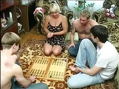 Gangbang, Wife, Mature, Cumming wife, Xhamster