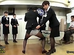 Stewardess, Train, Japanes stewardess, Pornhub