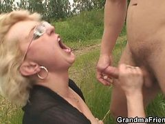 Whore, Outdoor, Grandpa creampies a whore, Xhamster