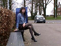 Crossdresser, Dress, Couple crossdress fantasy, Xhamster