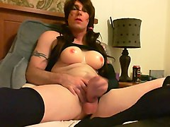 Crossdresser, Orgasm, Dress, Black crossdressers, Xhamster