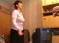 Russian, Milf, Interracial russian, Hardsextube