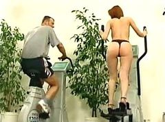 Gym, Workout at the gym, Xhamster