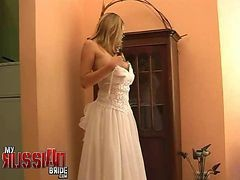 Bride, Russian, Wedding, Gangbang russian, Gotporn