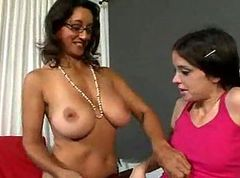 Lesbian, Old And Young, Old and young behind the scenes, Xhamster