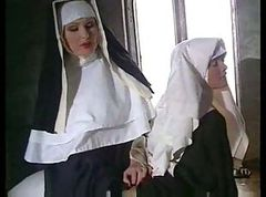 Nun, Solo nun with cross, Xhamster