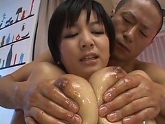 Asian, Oil, Creampie, Ass oiled up, Gotporn