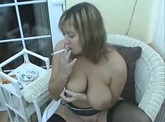 Smoking, Milf, Smoking domination, Xhamster