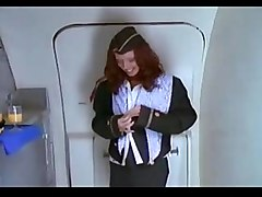 Stewardess, Ass, Stewardess blow job, Xhamster