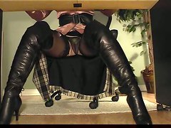 Secretary, Secretary fucks in nylon, Pornhub