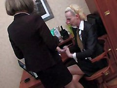 Office, Crossdresser, Dress, Interracial crossdresser in prison, Xhamster