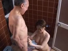 Old Man, Abused old man, Xhamster
